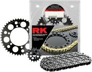 Rk 525xso Chain And Sprocket Kit 16/43t Natural Stock For Suzuki Gsxr600 2006-2009