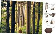 Wind Chimes Outdoor Large Deep Tone Metal Windchimes Sound Like Church Bell