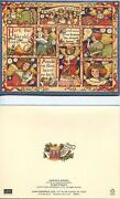 Christmas Hark Herald Angels Sing White Dove Heaven Card 1 Cook Kitchen Stove