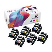 Canon Compatible Ink Cartridge Replacement For Cl-251xl Blk-cn-mn-gr-yl 30pk
