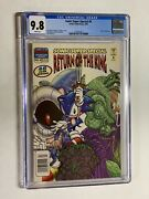 Sonic The Hedgehog Super Special 4 Cgc 9.8 Wp Return Of The King