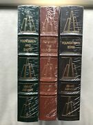 The Foundation Series By Isaac Asimov 3 Vol. Set Easton New