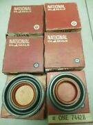 National Oil Seal Lot Of 10 7442 H