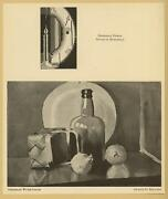 Vintage Nevartte Bedrossian Abstract Candle And Arthur D. Holland Onions Art Print