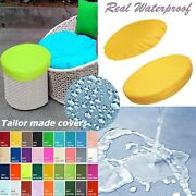 Tailor Made Coverpatio Round Cushion Waterproof Papasan Swing Chair Daybed Dw02