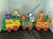 Fisher Price Little People Musical Animal Train Zoo With Figures 2002