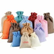 Drawstring Sating Jewelry Natural Bags For Wedding Party Gift Organza Pouches