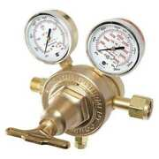 Victor 0780-0943 Gas Regulator Two Stage Cga-580 10 To 200 Psi Use With