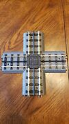 Mth Railking O Scale Trains 90 Degree Crossing Track Section