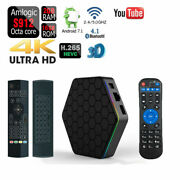 T95z Plus 4k 16gb Octa Core Wifi Bluetooth Android Smart Tv Box+air Mouse Remote