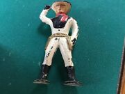 Barclay/manoil Vintage 2.75 Inch Cowboy Figure Very Nice Paint Condition