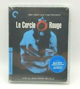 Le Cercle Rouge Blu-ray Criterion Collection Very Rare Out-of-print Sealed