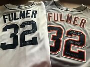 2 Michael Fulmer Game Worn-signed-inscribed Rookie Detroit Tigers Jerseys 2 Wins