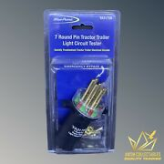 New Blue Point 7 Round Pin Tractor Trailer Light Circuit Tester Model Ya3179b