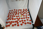 Lot Of 99 Vintage Milk Bottle Caps, Crockery City 86, And Others