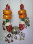 40 Off, African. Tribal Beads,moroccan Berber Amber Beaded Necklace.