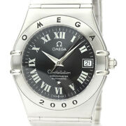 Polished Omega Constellation 2000 Year Limited Automatic Watch 1504.50 Bf529622