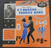 E.t. Mensah And His Tempoand039s Band Vinyl 10inch Rare African Ghana 1958 Highlife