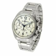 Bell And Ross Vintage 126 Chronograph 126.s Automatic Cal.7750 Ivory Dial Menandrsquos