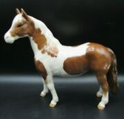 Beswick 1373 Gloss Skewbald Pinto Brown/white Pony Horse Excellent Condition
