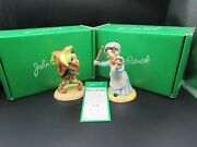 Beswick Punch And Judy Figures Boxed With Coa Ltd Edition 536 Of 2500 Mint