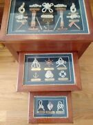 Nautical Knots Nesting Stacking Tables