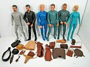 Vintage Marx Johnny Best Of The West Action Figure And Accessory Lot