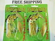 Lot Of 2 Hawg Caller Spinnerbait South Carolina Made Fishing Lures Nos 1 Ounce