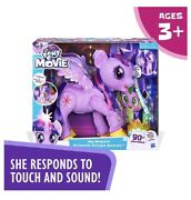 My Little Pony Movie Toy Magical Princess Twilight Sparkle Interactive New