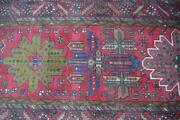 3and0397 X 14and0394 Finest S Antique Heris Hand Knotted Wool Runner Rug Caucasian Carpet