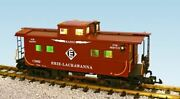 Usa Trains R12161 G Erie Lackawanna Ultimate Series Center-cupola Steel Caboose