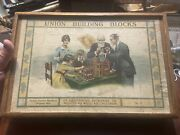 Vintage Rare Union Building Blocks No. 5 Made In Germany