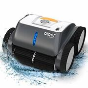 Cordless Robotic Pool Cleaner, Wall-climbing, Triple-motor, Intelligent Route