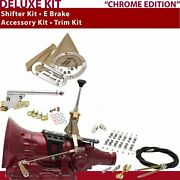 Fmx Shifter Kit 6andampquot E Brake Cable Clamp Clevis Trim Kit For C80f3