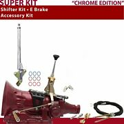 C4 Shifter Kit 6andampquot E Brake Cable Clevis For D3adb