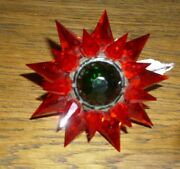 1930s Matchless Star Lg Size Series 700/900 Bulb Light Ec Red Working