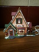 Heartland Valley Village Deluxe Porcelain Lighted House Christmas Decorations...