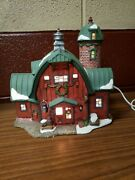 Heartland Valley Village Deluxe Porcelain Lighted House Christmas Decorations