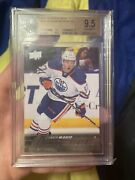 2015-16 Upper Deck Connor Mcdavid Young Guns Rookie Card Rc 201 Bgs 9.5