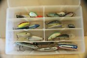 Box R Lot Of 25 Assorted Fishing Lures Crankbaits Baits Tackle Bass Tournament
