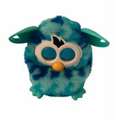 Furby Boom 2012 Blie Teal Cyan Wave Pattern Interactive Hasbro Toy Working