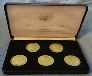1971-1974-s And 1976-s 40 Silver Eisenhower Dollar Box