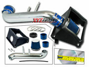 3.5 Blue Heat Shield Cold Air Intake + Filter For 2015-2017 Ford F150 5.0l V8