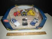 Disney Store Cars - Diecast Metal Protect And Serve 5 Pack - Mcqueen - Mater