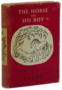 The Horse And His Boy C.s. Lewis First Uk Edition 1st 1954 Chronicles Of Narnia