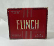 Flinch Card Game Vtg 1938 Parker Brothers W/instructions 6in1 Game As