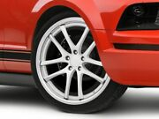 Rovos Cape Town Wheel In Satin Silver 20x8.5 Fits All Ford Mustang 2005-2009