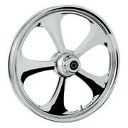 Rc Components 21350-9031-92c Nitro Front Wheel Dual Disc - 21x3.5in. - Chrome