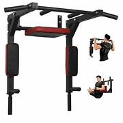 Wall Mount Pull Up Bar Wall Mounted Body Press Pull Up Bar Gym Chin-up Type A