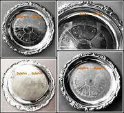 Hong Kong Vintage Rare On Epon Steel 4x4 Silver Plated Jewellery Tray Plate